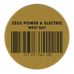Laser engraved industrial labels and tags