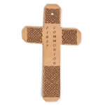 First Communion Cross Personalized By Laser Engraving