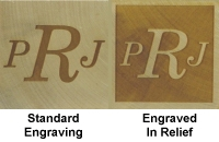 Standard and Relief Engraving