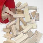 Blank Wood Building Blocks