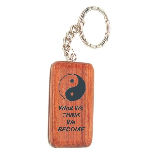 Wood Keychain For Men And Women Camper Rosewood Keychain With Laser Engraved Design Engraved Keyring Gift
