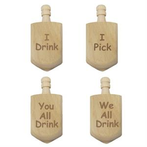 Dreidel Drinking Game - Modern Edition
