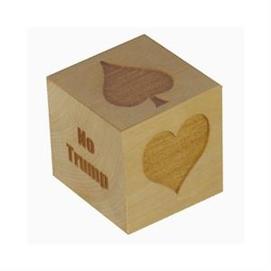 "Large 2"" Maple Wood Suit Marker Cube"