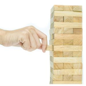Drinkga™ Wood Block Tower Party Game