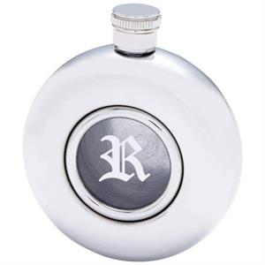 Personalized Window Flask, Single Initial