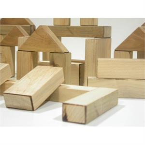 Wood Block Gold Set