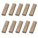 Laser Blox™ Personalized Wood Blocks - 3/4 x 1-1/2 x 6. Pack of 10